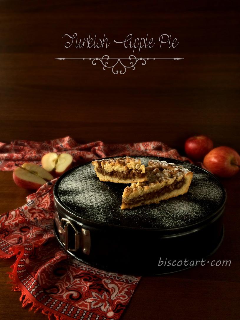 فطيرة التفاح التركية