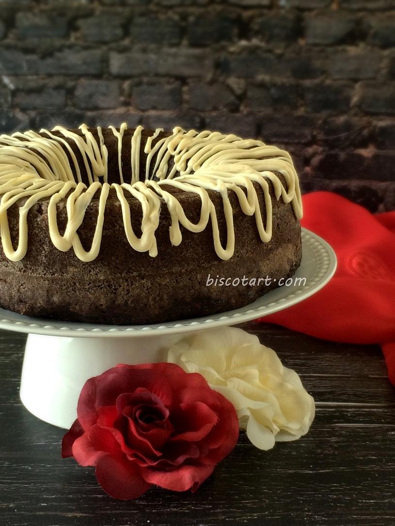 كعكة الكوسا بالشوكولاته