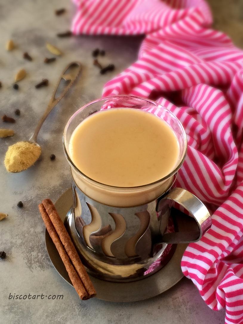 شاي ماسالا ( شاي بالحليب و البهارات )