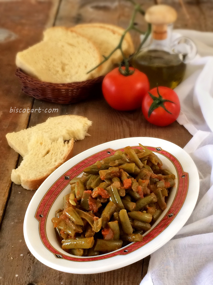 فاصولياء بزيت الزيتون على الطريقة التركية
