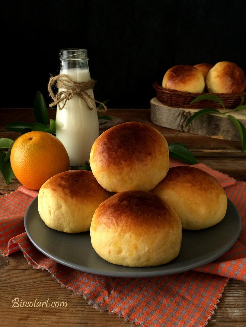 خبز بالبرتقال