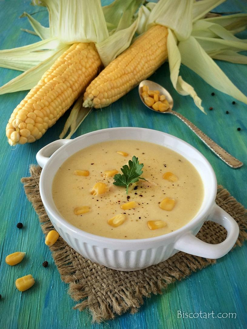 شوربة الذرة Corn Soup
