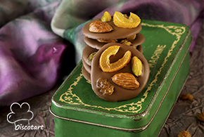 شوكولا بالمكسرات و الفواكه المجففة